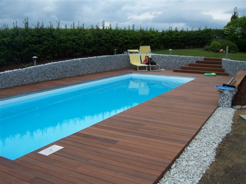 Ipe lapacho wooden terrace for Gartenpool holz